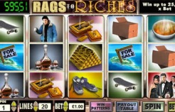 Rags to Riches Slots