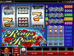 Rings and Roses Classic Slots