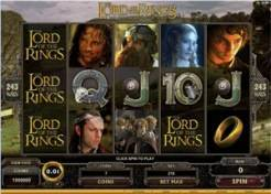 The Lord of the Rings – The Fellowship of the Ring Slots