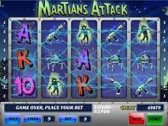 Martians Attack Slots
